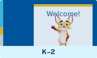 Un vistazo dentro del video de la escuela en línea K-2