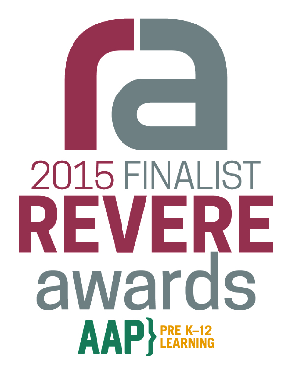Seal and Logo for Revere Awards 2015 Finalist -APP Pre K-12 Learning