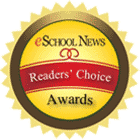 Seal and Logo for eSchool News Readers' Choice Awards