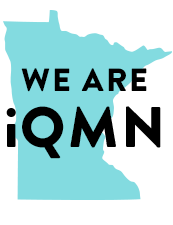Graphic with text We are iQMN