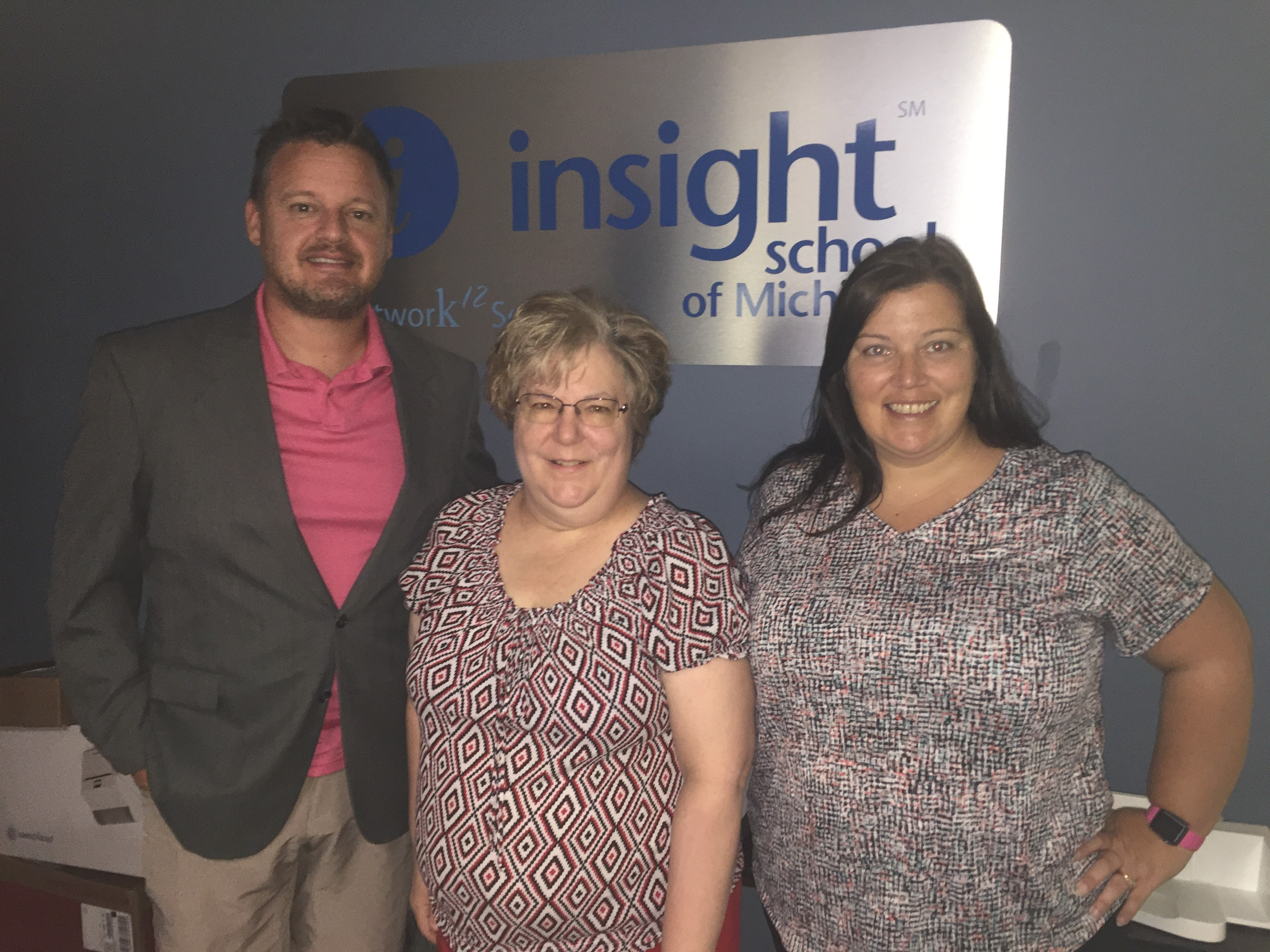 Pictured is Peter Hoekstra, Teresa Boardman and Tonya McGill - Administrative Staff for ISMI