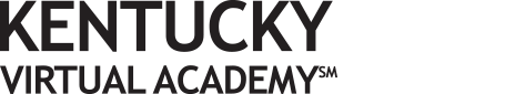 Logo of Kentucky Virtual Academy - Powered by K12